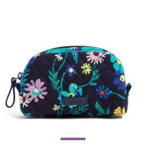 Vera Bradley Mini Cosmetic Bag - Moonlight Garden